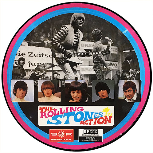ROLLING STONES LP The Rolling Stones In Action (Picture Disc)