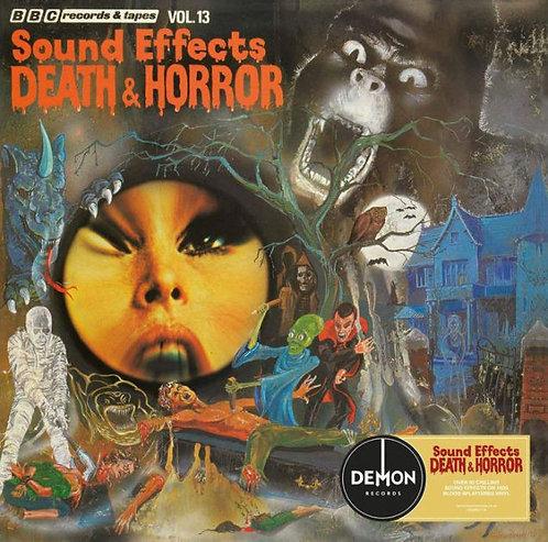 MIKE HARDING LP Sound Effects No. 13 - Death & Horror (Blood-Splatter Vinyl)