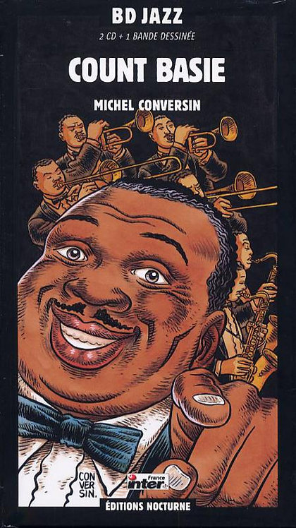 COUNT BASIE 2xCD BD Jazz (Comic Book Longbox)