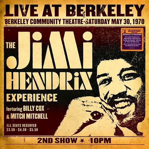 JIMI HENDRIX 2xLP Live At Berkeley (180 Gram Audiophile Vinyl)