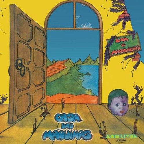 CASA DAS MAQUINAS LP Lar De Maravilhas (Brazilian Prog Rock)