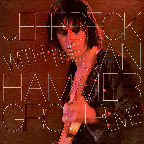 JEFF BECK WITH THE JAN HAMMER GROUP LP Live