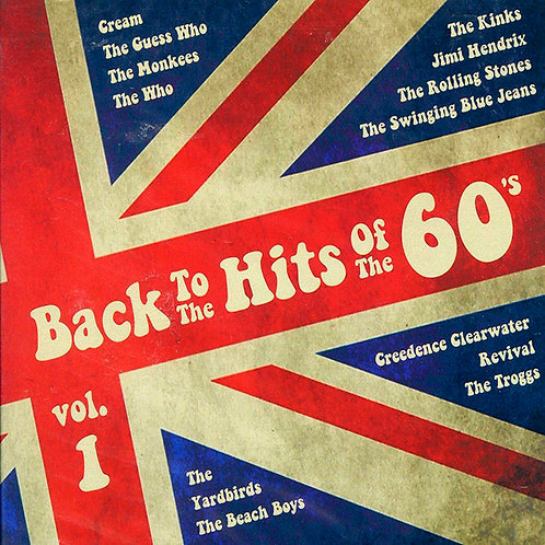 VARIOS 2xCD Back To The Hits Of The 60's Vol 1