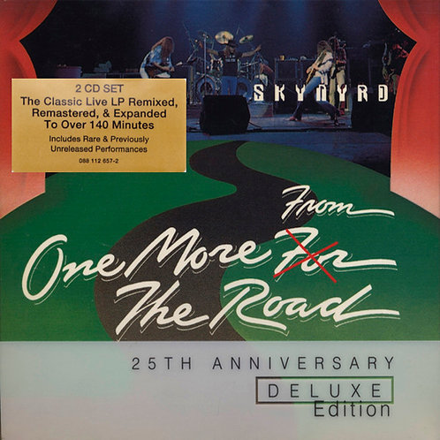 LYNYRD SKNYRD 2xCD One More From The Road (25th Anniversary Deluxe Edition)
