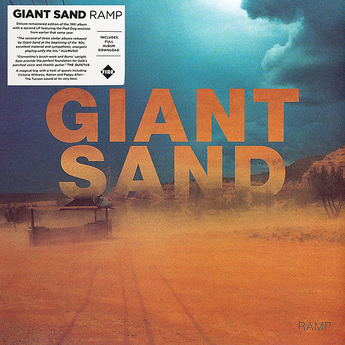 GIANT SAND 2xLP Ramp (Deluxe Remastered Edition)