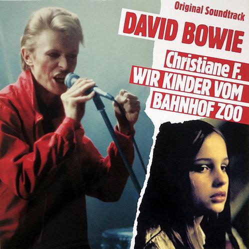 DAVID BOWIE LP Christiane F. Wir Kinder Vom Bahnhof Zoo (Red Coloured Vinyl)