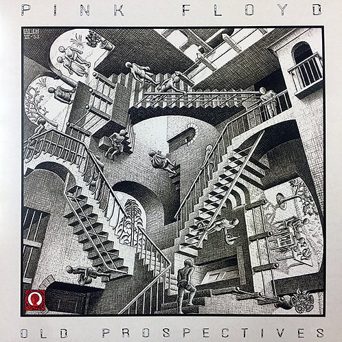 PINK FLOYD LP Old Prospectives (Red Marbled Coloured Numbered Vinyl)