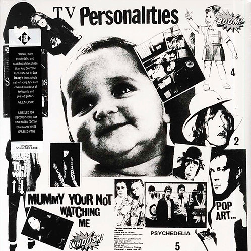 TELEVISION PERSONALITIES LP Mummy Your Not Watching Me (Record Store Day 2017)