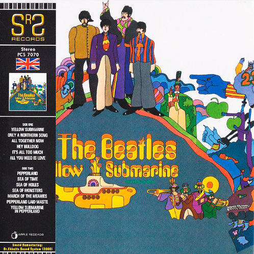 BEATLES CD Yellow Submarine (Mini Vinyl Replica)