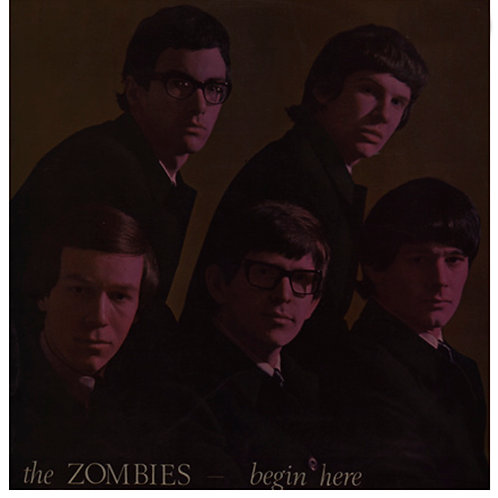 THE ZOMBIES LP Begin Here