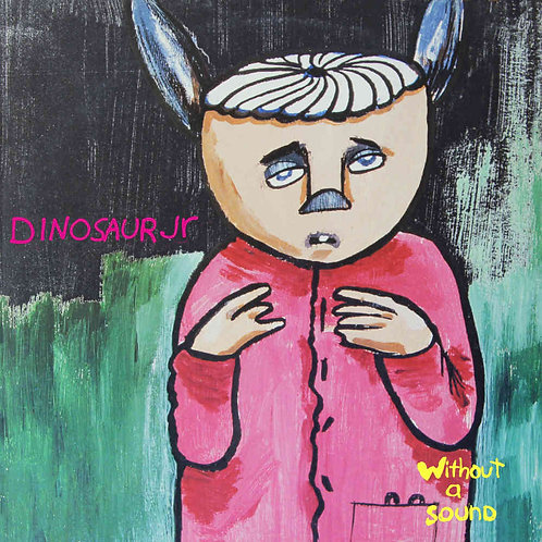 DINOSAUR JR. 2xLP Without A Sound Deluxe Expanded Yellow Coloured Vinyl Edition