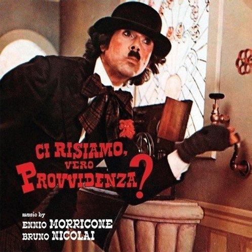 ENNIO MORRICONE LP Ci Risiamo, Vero Provvidenza? (Red Coloured Vinyl)