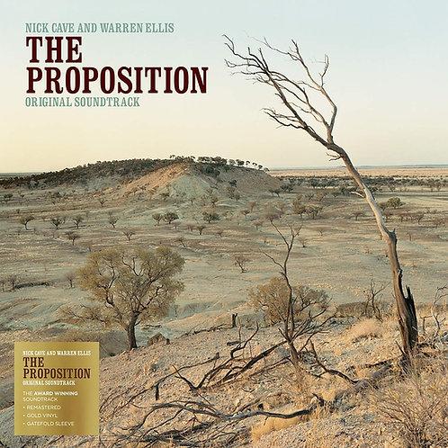 NICK CAVE & WARREN ELLIS LP The Proposition Soundtrack (Gold Coloured Vinyl)
