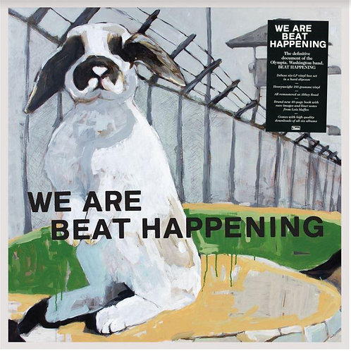 BEAT HAPPENING 7xLP BOX SET We Are Beat Happening