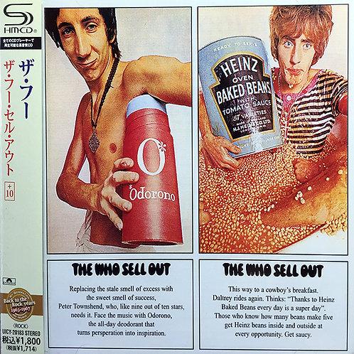 THE WHO CD Sell Out + 10 Bonus Tracks (Japan SHM-CD)