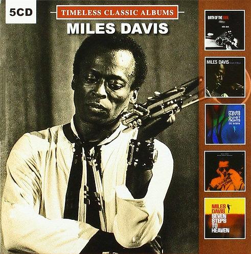 MILES DAVIS BOX SET 5xCD Timeless Classic Albums Vol 2