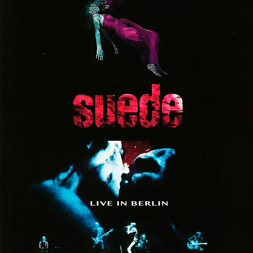 SUEDE LP Live In Berlin (Red Coloured Gatefold Vinyl)