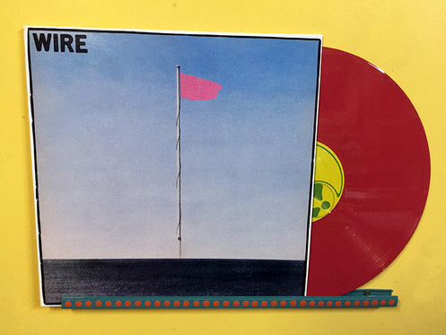 WIRE LP Pink Flag (Red Coloured Vinyl)