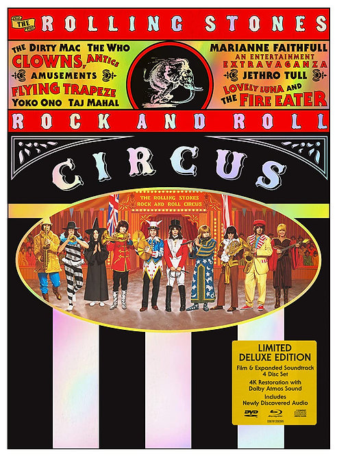 ROLLING STONES 2xCD+DVD+BLU-RAY Rock And Roll Circus (Limited Deluxe Edition)