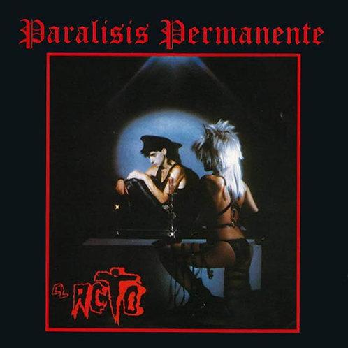 PARALISIS PERMANENTE LP+CD El Acto (Red Coloured Vinyl)