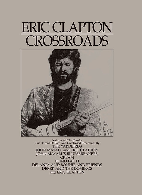 ERIC CLAPTON BOX SET 4xCD Crossroads
