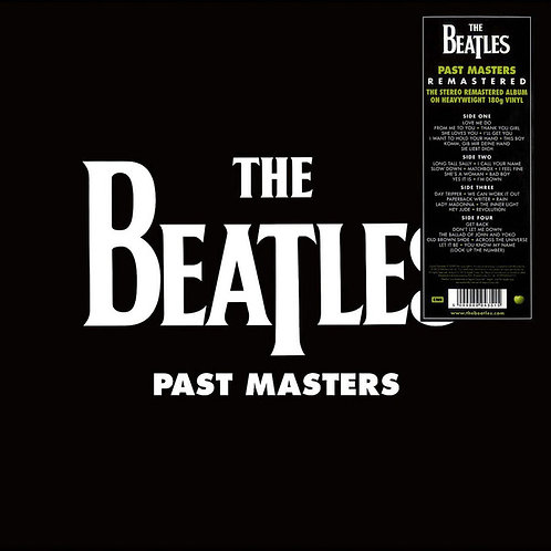 BEATLES 2xLP Past Masters (Remastered)