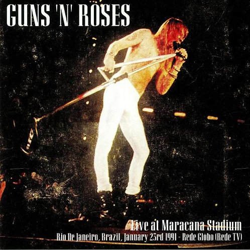 GUNS AND ROSES 2xLP Live At Maracana Stadium
