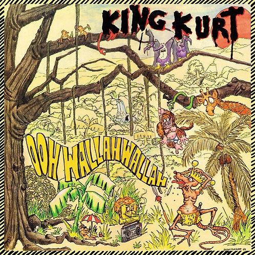 KING KURT LP Ooh Wallah Wallah (Yellow Coloured Vinyl)