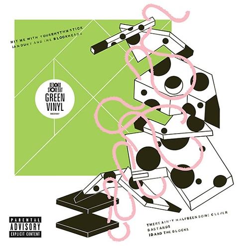 IAN DURY MAXI-LP Hit Me With Your Rhythm Stick (Green Coloured RSD 2021)