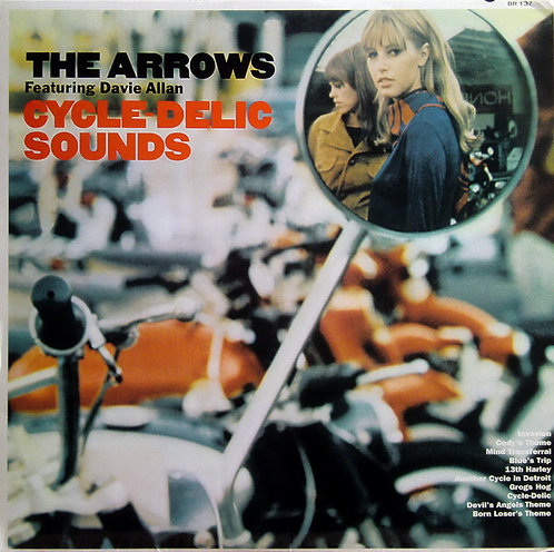 DAVIE ALLAN & THE ARROWS LP Cycle-Delic Sounds