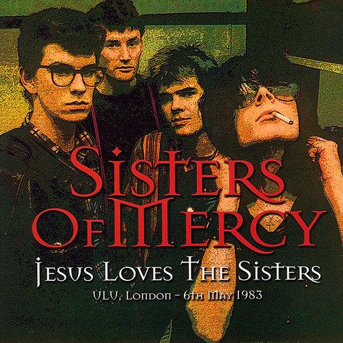 SISTERS OF MERCY LP Jesus Loves The Sisters (Purple Coloured Vinyl)