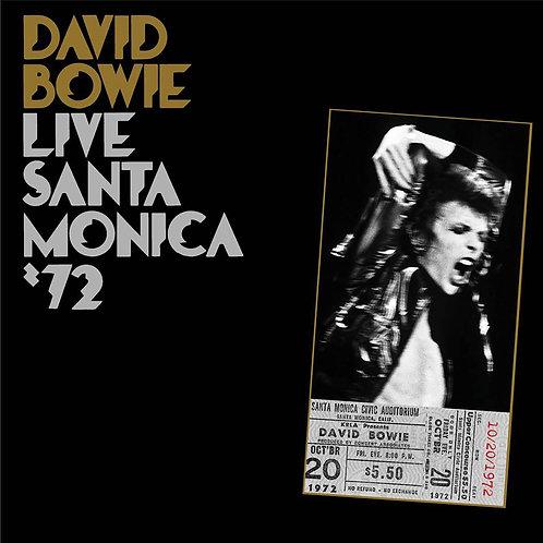 DAVID BOWIE 2xLP Live Santa Monica '72