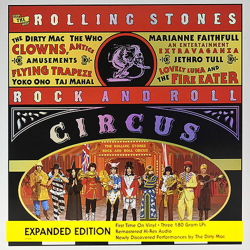 ROLLING STONES BOX SET 3xLP Rock And Roll Circus (Expanded Edition)