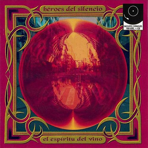 HEROES DEL SILENCIO 2xLP+CD El Espíritu Del Vino