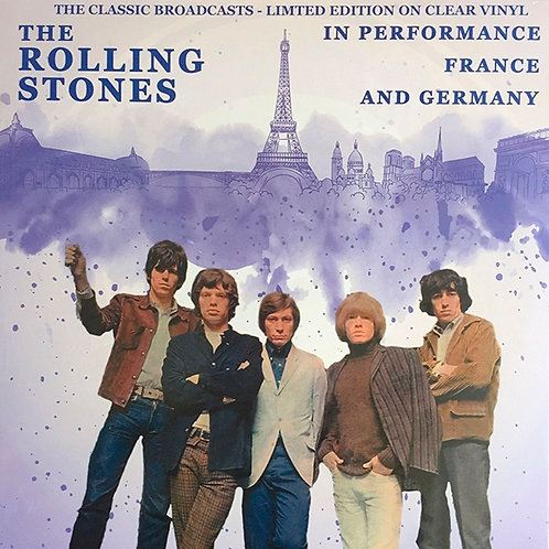 ROLLING STONES LP In Performance France (Clear Vinyl Edition)