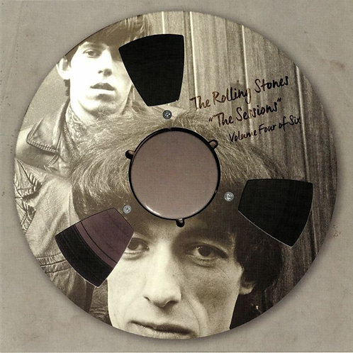 """ROLLING STONES 10"""" """"The Sessions"""" Volume Four Of Six (Clear Vinyl)"""