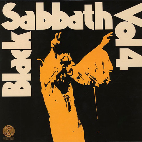 BLACK SABBATH LP Vol 4 (Vertigo Label)