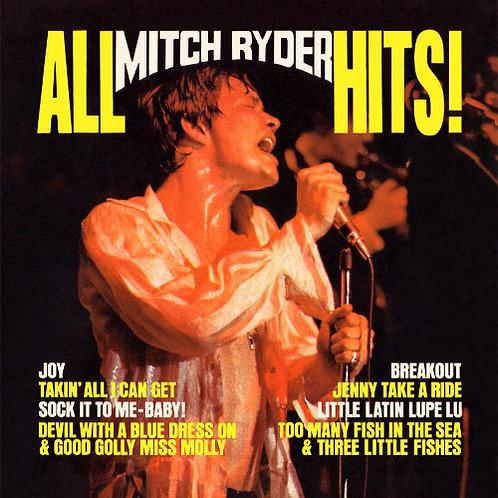 MITCH RYDER LP All Mitch Ryder Hits!
