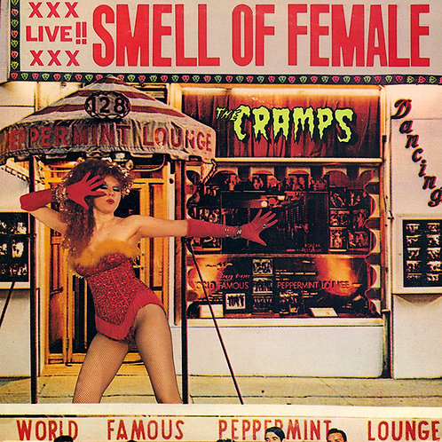 CRAMPS LP Smell Of Female (Yellow Coloured Vinyl)