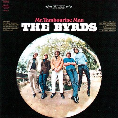 THE BYRDS CD Mr. Tambourine Man + Bonus Tracks