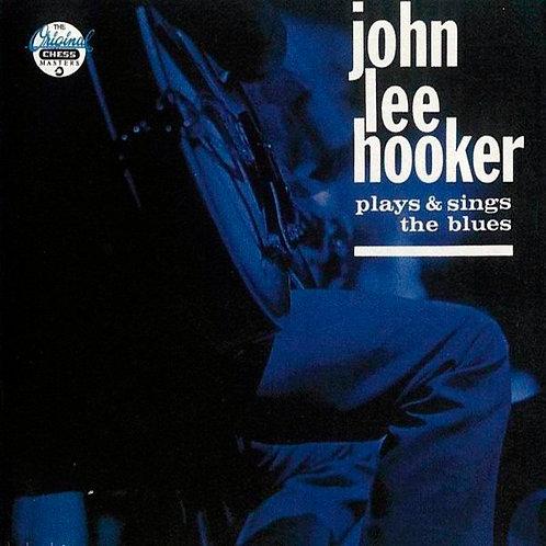 JOHN LEE HOOKER CD Plays & Sings The Blues