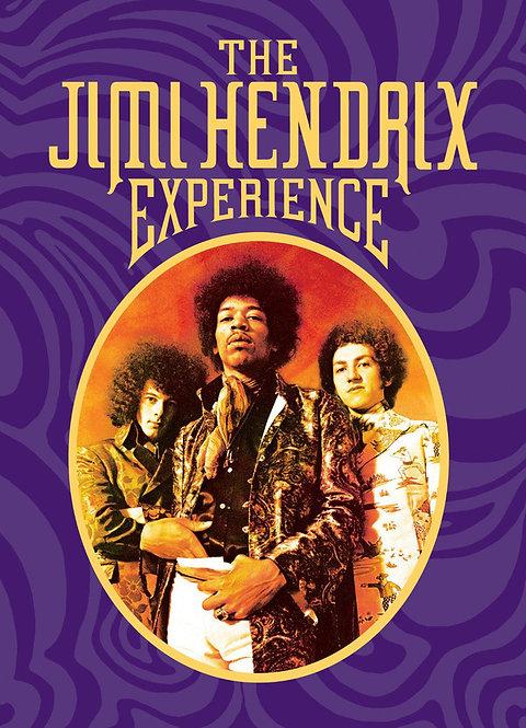 JIMI HENDRIX BOX SET 4xCD The Jimi Hendrix Experience (Book Format)