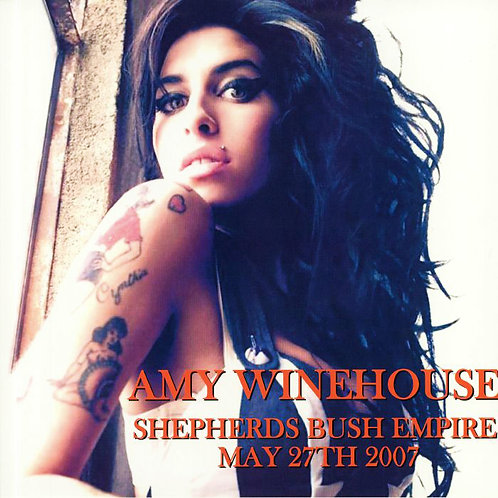 AMY WINEHOUSE LP Shepherds Bush Empire May 27th 2007