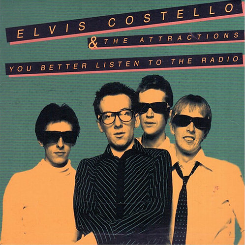 ELVIS COSTELLO CD You Better Listen To The Radio
