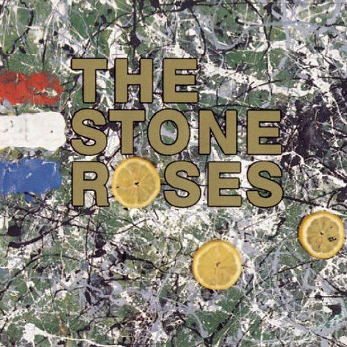 STONE ROSES LP Stone Roses (White Marbled Coloured Vinyl)