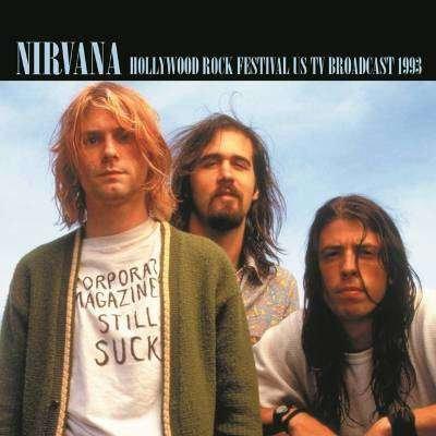 NIRVANA 2xLP Hollywood Rock Festival US TV Broadcast 1993