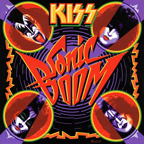 KISS LP Sonic Boom (Blue Translucid Coloured Vinyl)