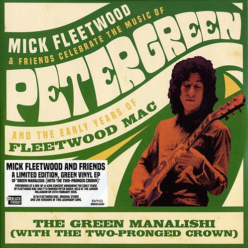 MICK FLEETWOOD & FRIENDS MAXI-LP Green Manalishi (Black Friday) Green Coloured