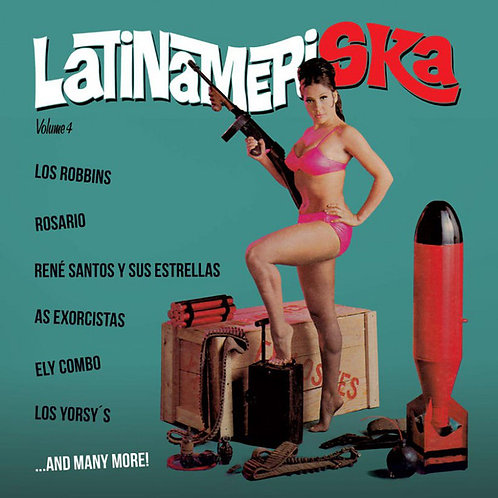 VARIOS LP Latinameriska Volume 4