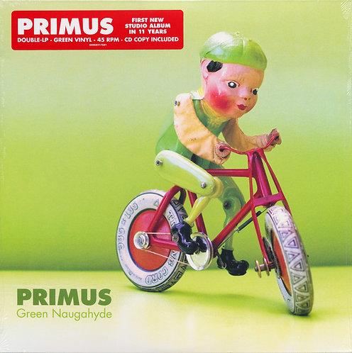 PRIMUS 2xLP+CD Green Naugahyde (Green Coloured Vinyl)